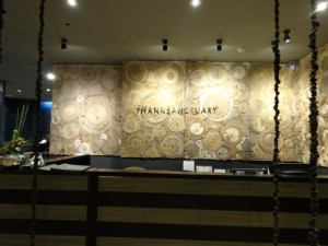 Thann Sanctuary reception