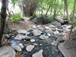 ボークン温泉の源泉