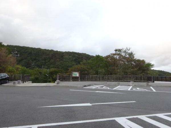 北温泉の駐車場