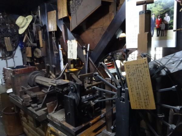 北温泉・昔の道具