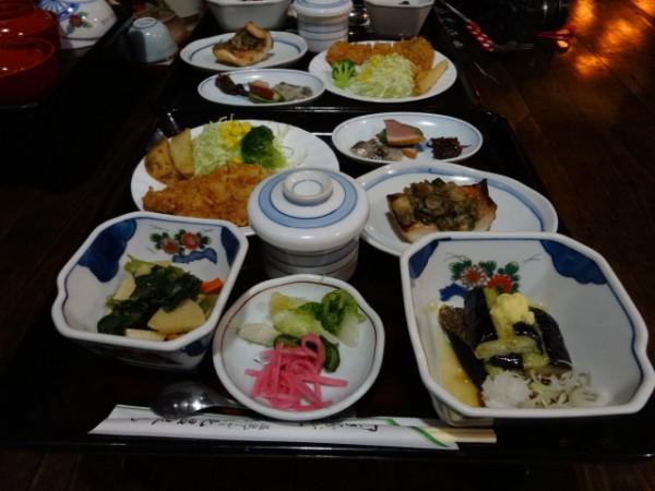 北温泉・夕食