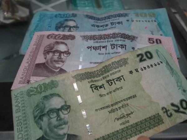 バングラデシュのお札