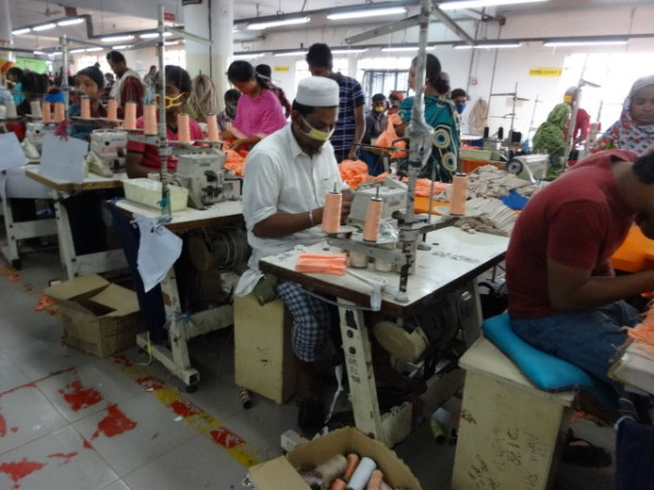 grameen knitwear sewing section