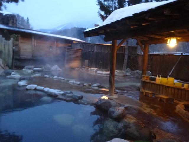 佳留萱山荘の女子風呂