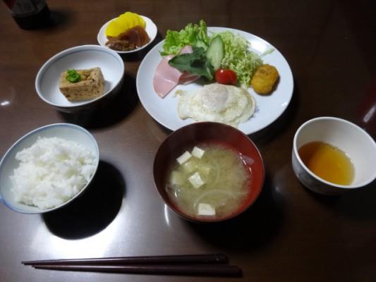 城福寺 朝食