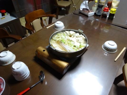 城福寺 夕食