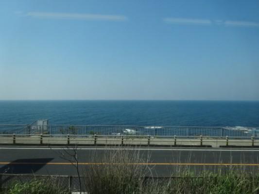 JR田儀駅からの眺め