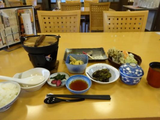 佐白温泉 長寿の湯 食事