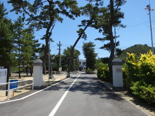 大島青松園に到着